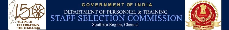 Staff Selection Commission-Southern Region, Chennai - About Us